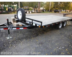 "#1262364 - 2017 PJ Trailers Flatdeck 8' 6"" X 16' 7K Deck Over"