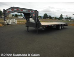 "#LDR25-25K - 2019 PJ Trailers Flatdeck 102"" X 25' Power Tail"