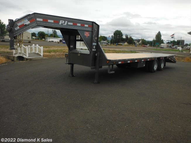 "2019 PJ Trailers Flatdeck 102"" X 25' Power Tail"