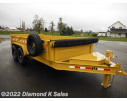 #1292089 - 2018 PJ Trailers Dump 7' X 14' 14K DL Low Pro