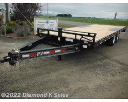 #Available To Order - 2019 PJ Trailers Flatdeck F820-14K 8' X 20'