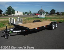 #1002520 - 2018 Summit Trailer Cascade 7' X 16' 7K Flatbed