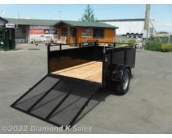 #1002933 - 2018 Summit Trailer Alpine 4' x 8' 3K LANDSCAPE
