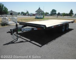 "#1002936 - 2018 Summit Trailer Cascade 102"" x 16' Deck Over"