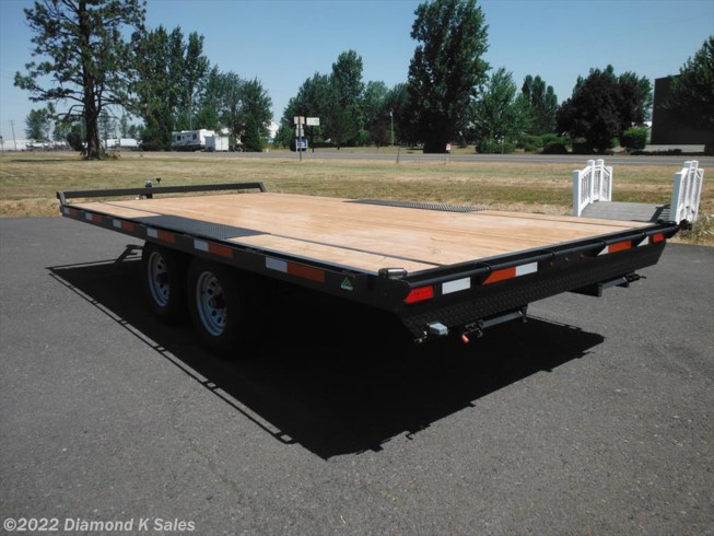 "2018 Summit Trailer Cascade 102"" x 18' Deck Over"
