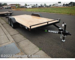 #1002932 - 2018 Summit Trailer Alpine 7' X 16' 7K Flatbed