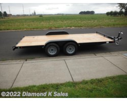 #1002930 - 2018 Summit Trailer Alpine 7' X 16' 7K Flatbed