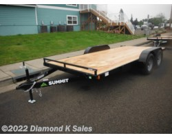 #1002928 - 2018 Summit Trailer Alpine 7' X 16' 7K Flatbed