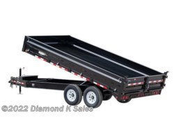 #1299833 - 2019 PJ Trailers Dump 8' X 16' 14K Deck Over
