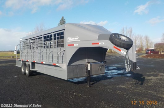 "Livestock Trailer - 2019 Miscellaneous swift built  SB24 6'8"" X 24' Gooseneck available New in Halsey, OR"