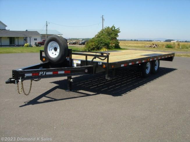 Flat Deck Trailer >> 1327245 2020 Pj Trailers Flatdeck 102 X 20 14k Deck Over