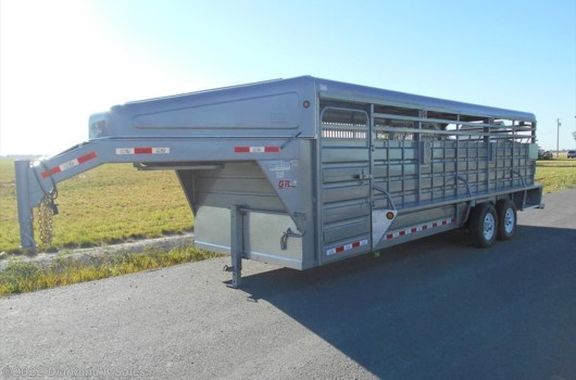 "Livestock Trailer - 2020 Miscellaneous gr  Cattleman 6'8"" X 24' available New in Halsey, OR"