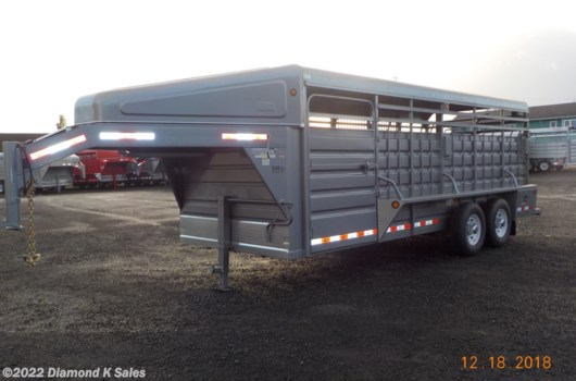 "Livestock Trailer - 2020 Miscellaneous gr  6'8"" X 20' GOOSENECK available New in Halsey, OR"