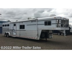 #5079 - 2000 Elite Trailers 3 Horse Elite w/15' Outlaw LQ