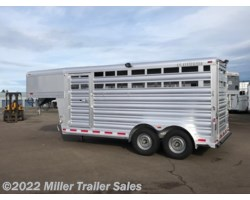 #8755 - 2017 Platinum Coach 16' Stock Trailer