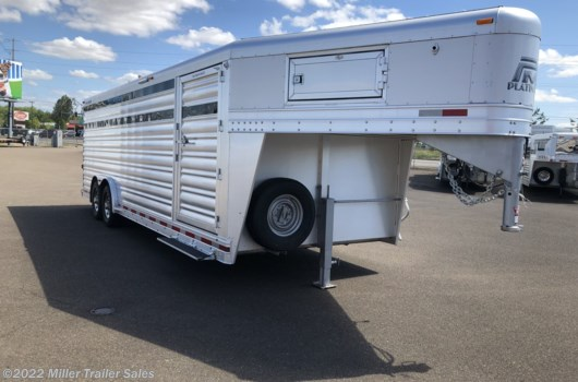 Livestock Trailer - 2019 Platinum Coach 24 stock available New in Albany, OR