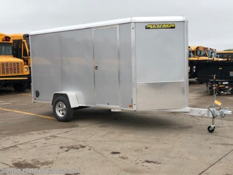 <p>2020 ALUMA PRO SERIES ENCLOSED ALL ALUMINUM TRAILER</p>