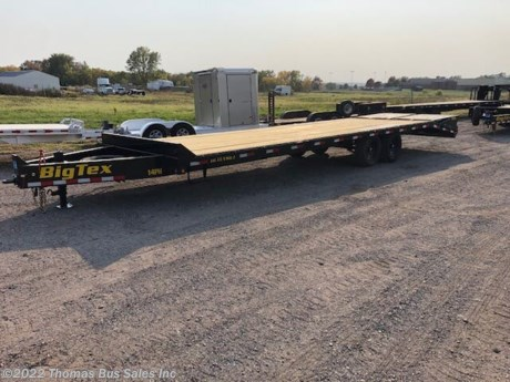 <p>BIG TEX 14PH DECKOVER EQUIPMENT TRAILER</p>