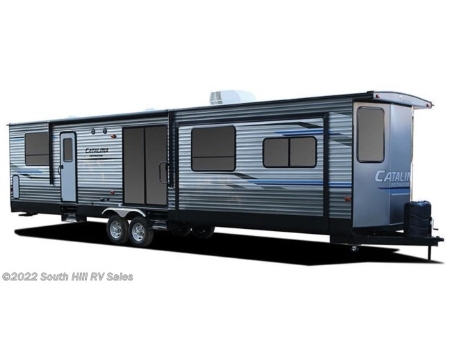 Stock Image for 2019 Coachmen Catalina Destination 40BHTS (options and colors may vary)