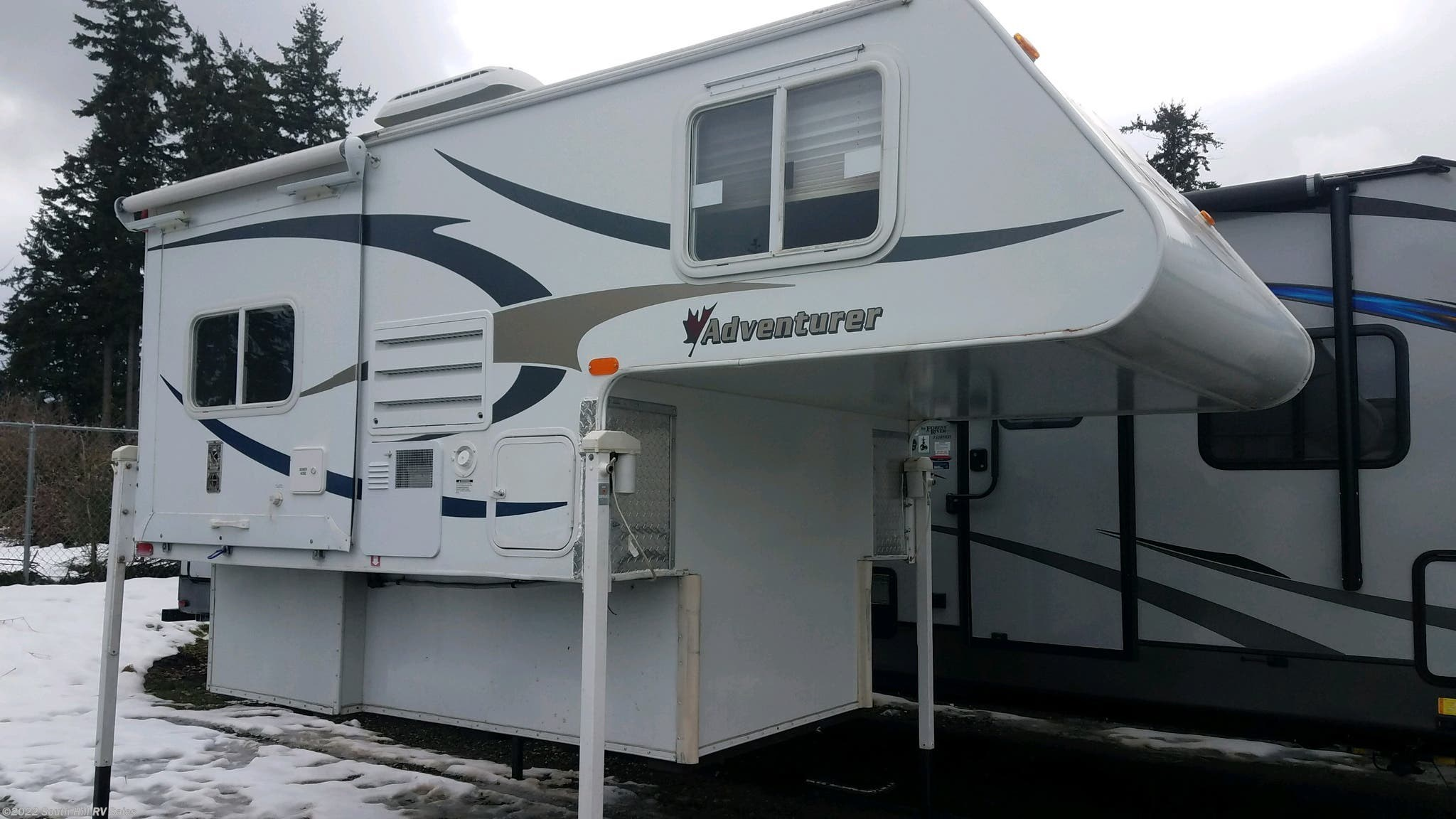2796AA - 1998 Fleetwood Caribou11' for sale in Puyallup WA