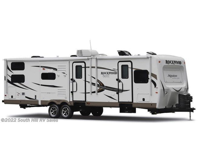 Stock Image for 2016 Forest River Rockwood Signature Ultra Lite 8325SS (options and colors may vary)