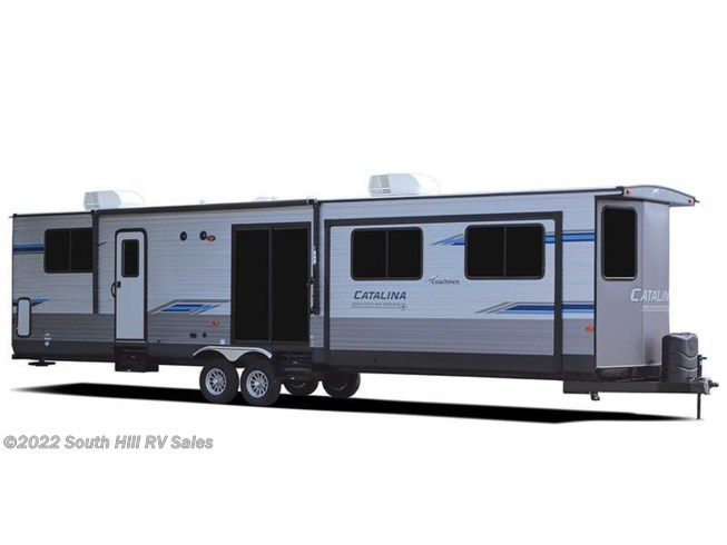 Stock Image for 2021 Coachmen Catalina Destination 39MKTS (options and colors may vary)