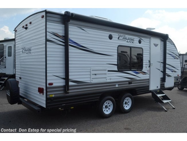 2019 Salem Cruise Lite 201BHXL by Forest River from Don Estep  & Chip Grady in Southaven, Mississippi