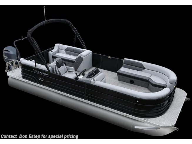 New 2021 Miscellaneous Veranda Luxury Pontoons Vista View 22 Rear Chase available in Southaven, Mississippi