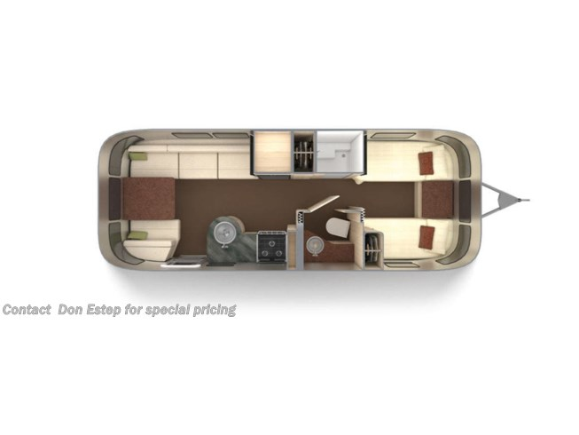 New 2021 Airstream National Serenity 25FBT available in Southaven, Mississippi