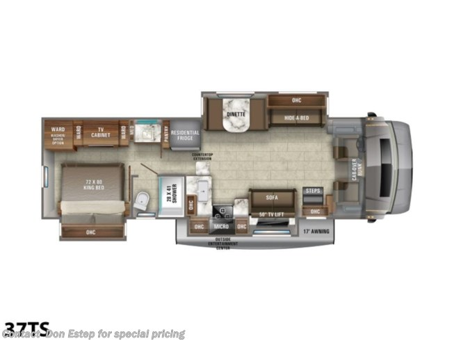New 2021 Jayco Seneca 37TS available in Southaven, Mississippi