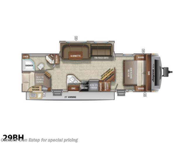 New 2021 Jayco White Hawk 29BH available in Southaven, Mississippi