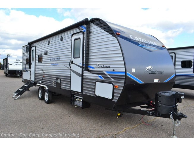 New 2021 Coachmen Catalina Legacy Edition 263BHSCK available in Southaven, Mississippi