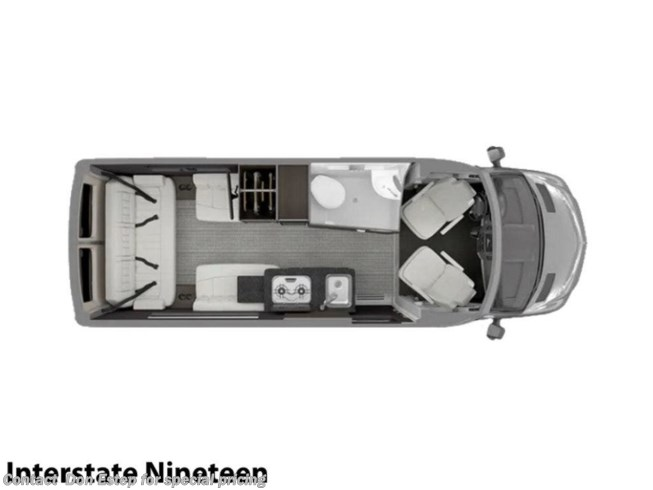 New 2021 Airstream Interstate Nineteen Base available in Southaven, Mississippi