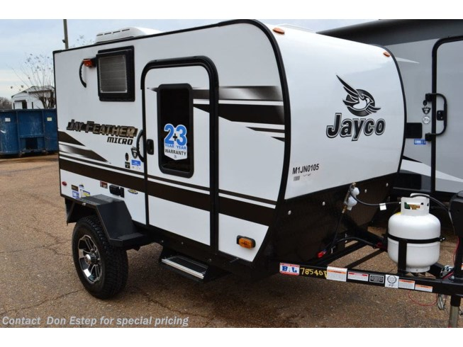 New 2021 Jayco Jay Feather Micro 12SRK available in Southaven, Mississippi
