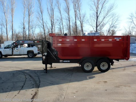 New 2017 Load Trail 83x14 Gooseneck Roll Off For Sale by Visto's Trailer Sales available in West Fargo, North Dakota