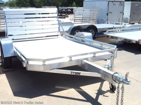 New 2018 Aluma 77X10 Utility For Sale by Visto's Trailer Sales available in West Fargo, North Dakota