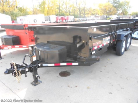 New 2018 Midsota 82''x16' Dump Trailer For Sale by Visto's Trailer Sales available in West Fargo, North Dakota