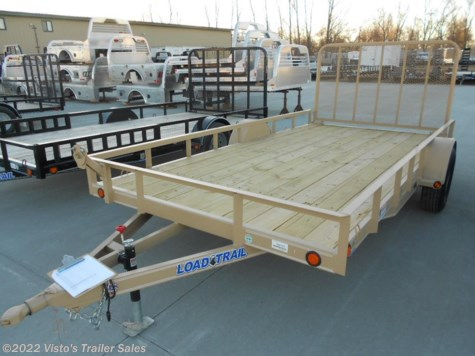 "New 2018 Load Trail 83""X14' Utility Trailer For Sale by Visto's Trailer Sales available in West Fargo, North Dakota"
