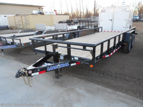 "New 2018 Load Trail 83""X20' Equipment Trailer For Sale by Visto's Trailer Sales available in West Fargo, North Dakota"