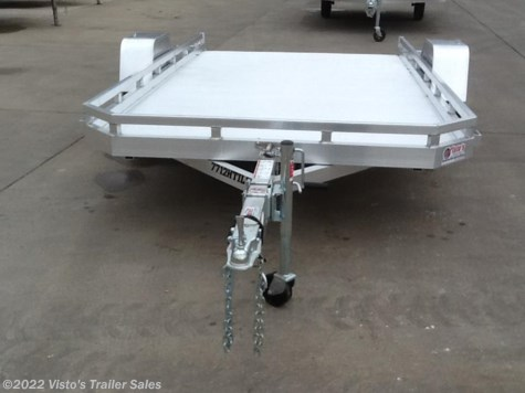 "New 2018 Aluma 7712H Tilt 77""X12' Utility Trailer For Sale by Visto's Trailer Sales available in West Fargo, North Dakota"