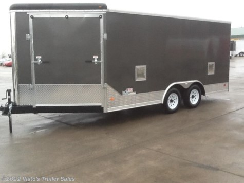 New 2018 MTI 8.5X21 Enclosed Trailer For Sale by Visto's Trailer Sales available in West Fargo, North Dakota