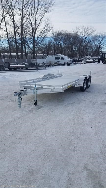 New 2018 Aluma 78''x16' Utility Trailer For Sale by Visto's Trailer Sales available in West Fargo, North Dakota