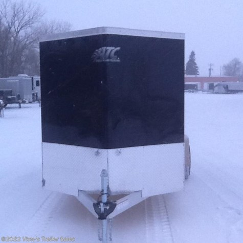 New 2018 ATC 6'X12' Enclosed Trailer For Sale by Visto's Trailer Sales available in West Fargo, North Dakota