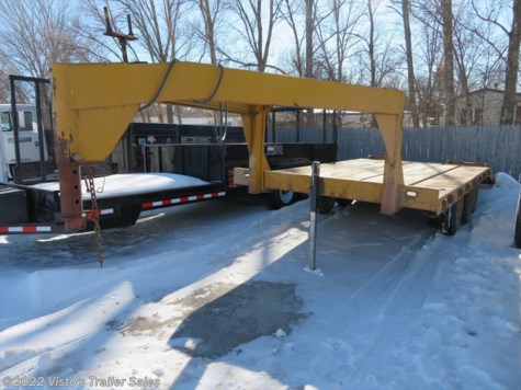 Used 1972 Miscellaneous 8'x18' Gooseneck Deckover For Sale by Visto's Trailer Sales available in West Fargo, North Dakota