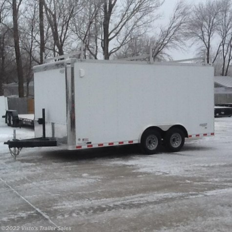 New 2018 Bravo Star 8.5'X16' Enclosed Trailer For Sale by Visto's Trailer Sales available in West Fargo, North Dakota