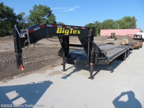 Used 2015 Big Tex 102''X25' Gooseneck Deckover For Sale by Visto's Trailer Sales available in West Fargo, North Dakota