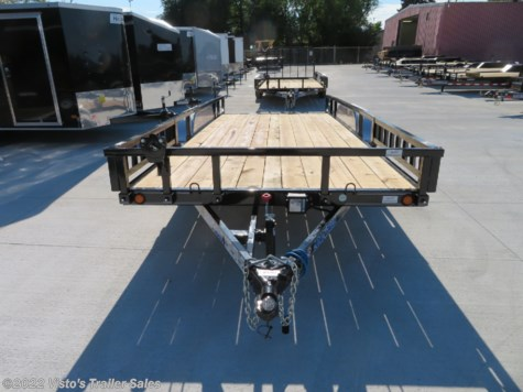 New 2018 Load Trail 83''X18' Utility Trailer For Sale by Visto's Trailer Sales available in West Fargo, North Dakota