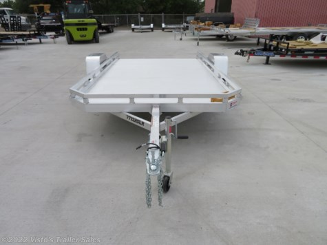 New 2019 Aluma 7712HSLR 77''X12' Utility Trailer For Sale by Visto's Trailer Sales available in West Fargo, North Dakota