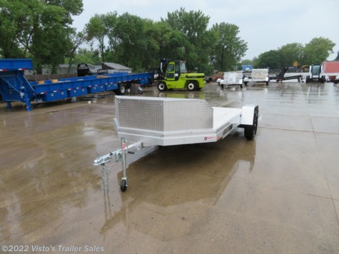 "New 2019 Aluma UT12 78""X12' Utility Trailer For Sale by Visto's Trailer Sales available in West Fargo, North Dakota"