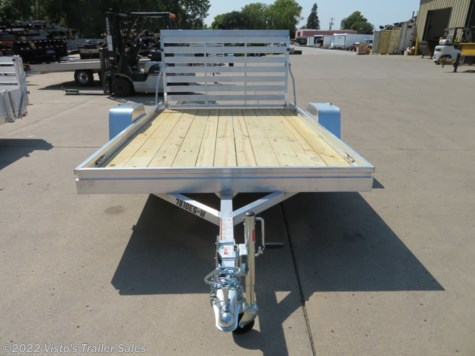 New 2019 Aluma 7810ES-W 78''X10' Utility Trailer For Sale by Visto's Trailer Sales available in West Fargo, North Dakota